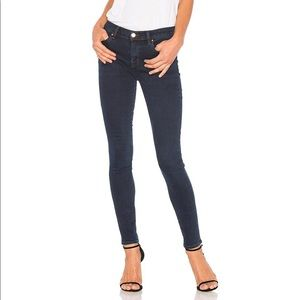 J Brand mid rise super skinny jeans in Throne